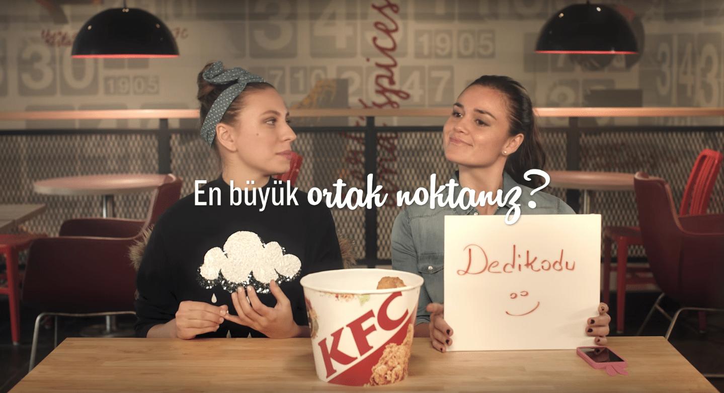 KFC sıkı dostlukları test ediyor