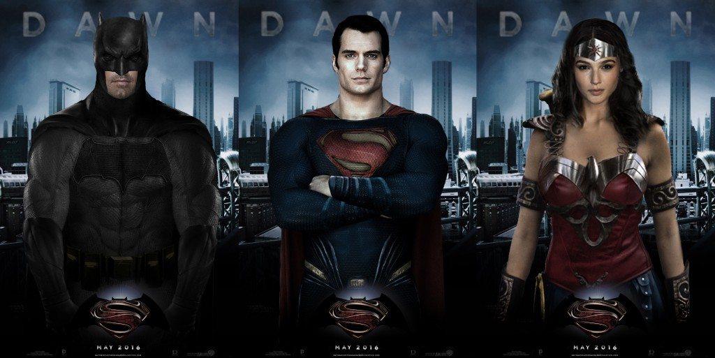 Batman v Superman: Dawn of Justice'in tüm fragmanları