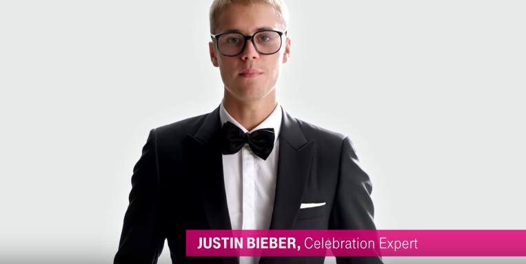 Justin Bieber ilginç dansıyla reklam yıldızı oldu
