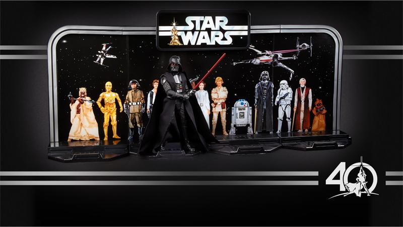 Hasbro'dan Star Wars'un 40. yılına özel figürler