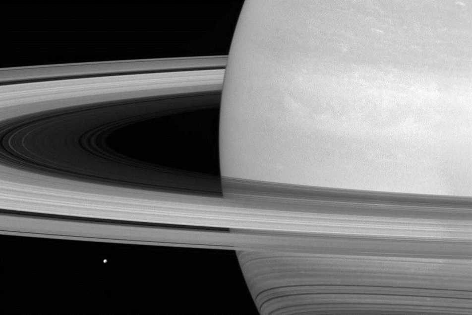 Satürn halkalarının en ayrıntılı görüntüleri