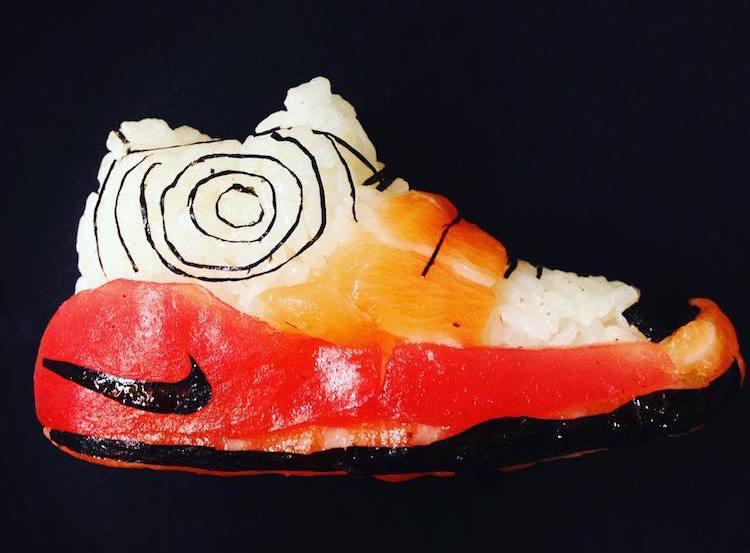 Yemek için tasarlanmış ayakkabılar