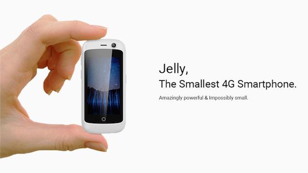 Dünyanın en küçük 4G telefonu