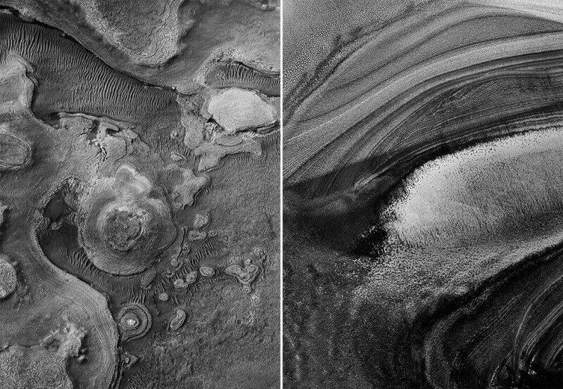 Mars, karşımıza siyah beyaz karelerle çıkıyor