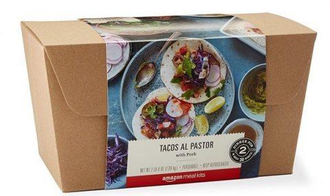 Amazon'dan yeni bir ürün: Yemek kiti