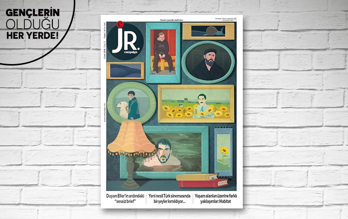 JR.'ın Ocak sayısı çıktı!