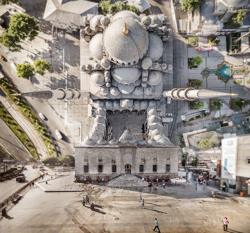 Drone'la çekilmiş sürreal İstanbul fotoğrafları