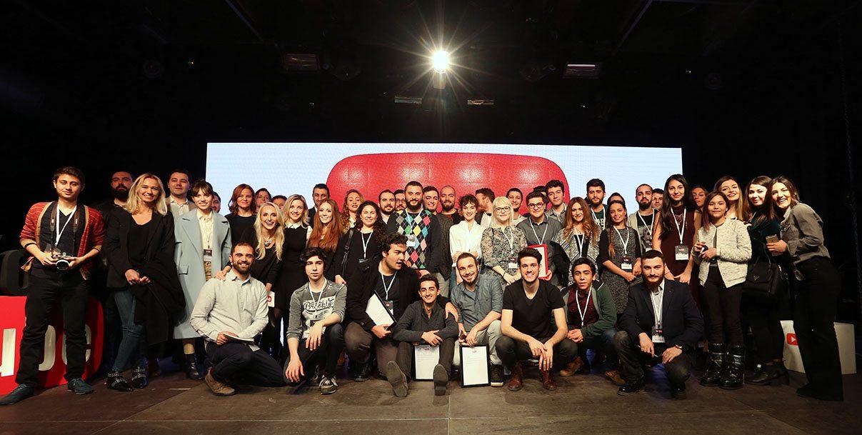 YouTube yıldızları ödüllerini aldı