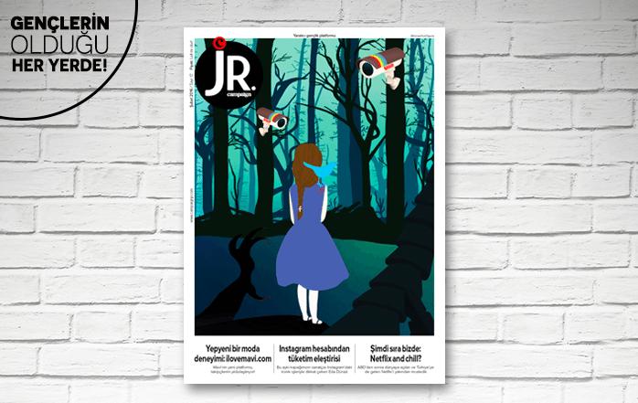 JR.'ın Şubat sayısı çıktı!