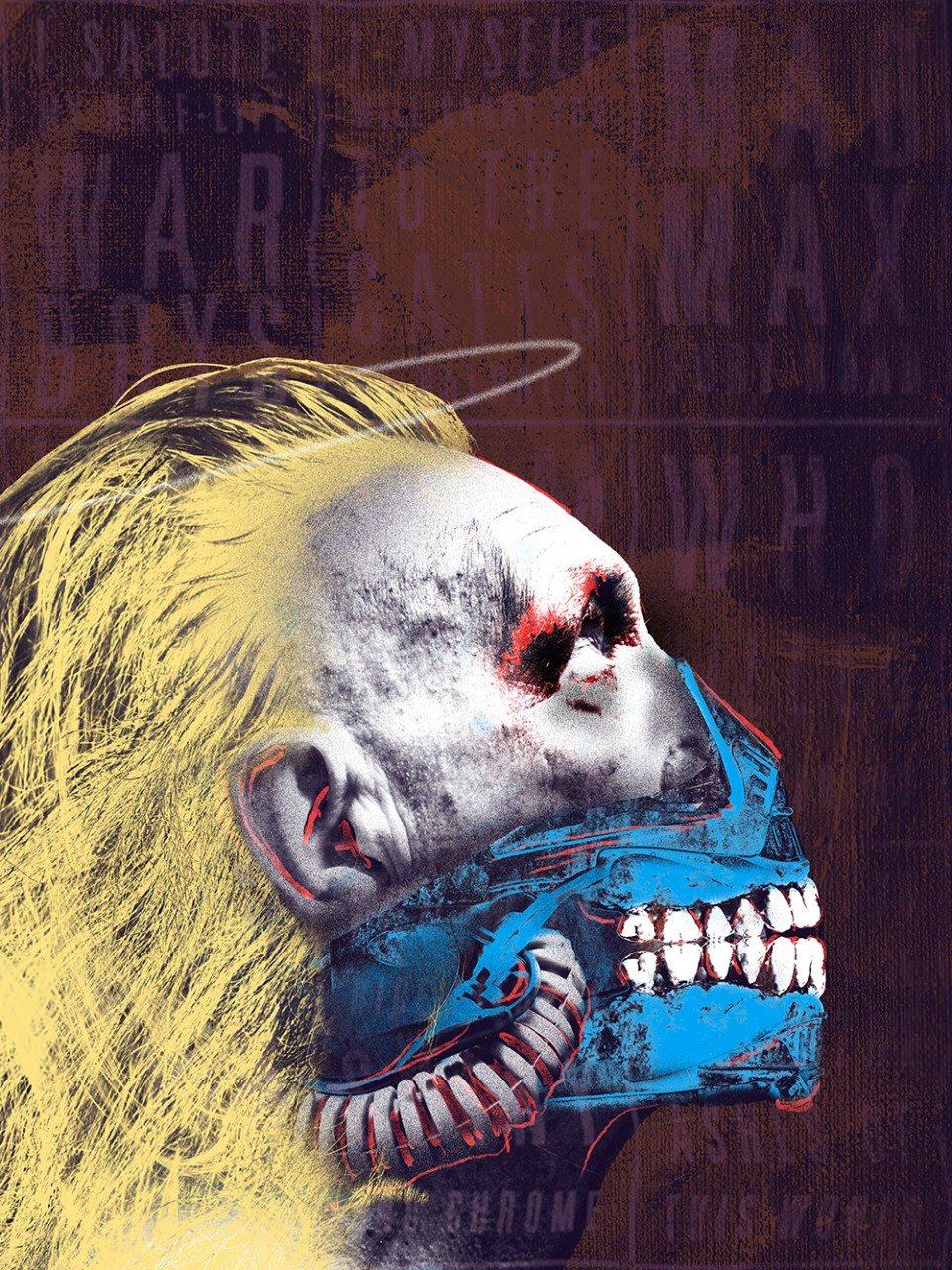Mad Max: Fury Road, Jordan Roland (İlham kaynağı: Andy Warhol)