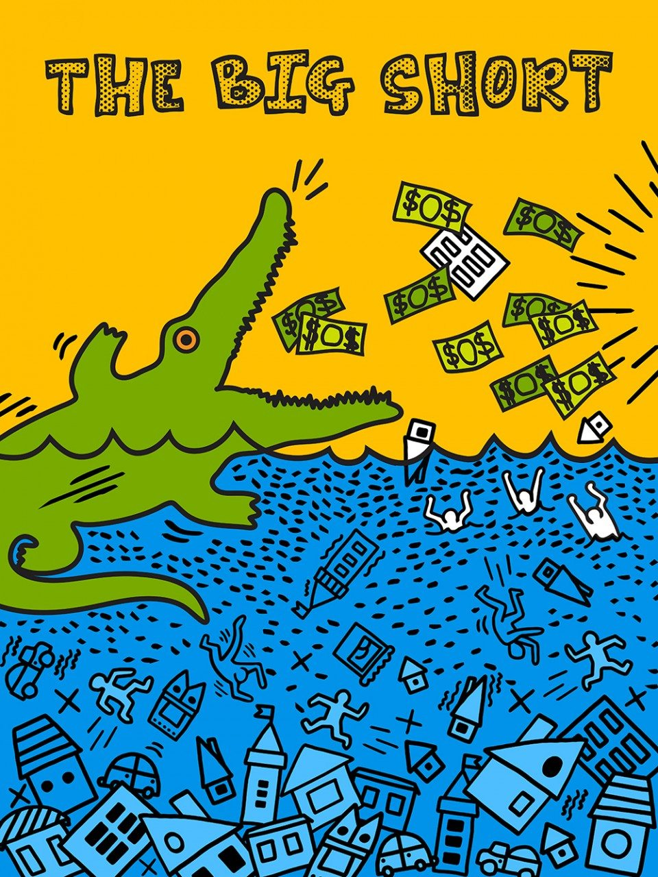 The Big Short, Flo Lau (İlham kaynağı: Keith Haring)