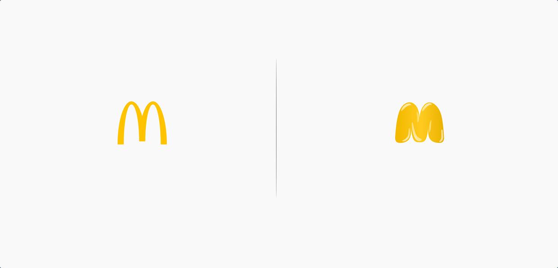 Marka logoları, ürünlerini yansıtsaydı nasıl görünürdü?