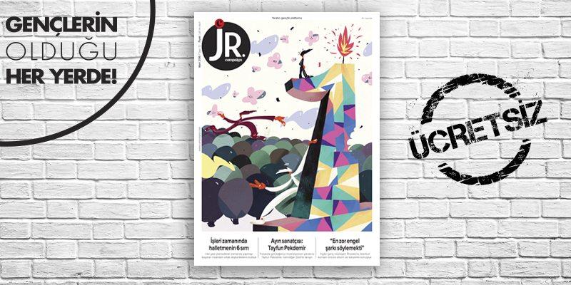 JR.'ın Mart sayısı çıktı!