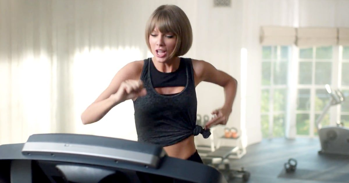 Taylor Swift, Apple için koşu bandından düşüyor