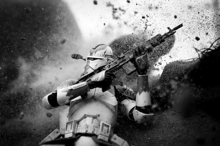 Savaşın başrol oyuncuları: Stormtrooper'lar