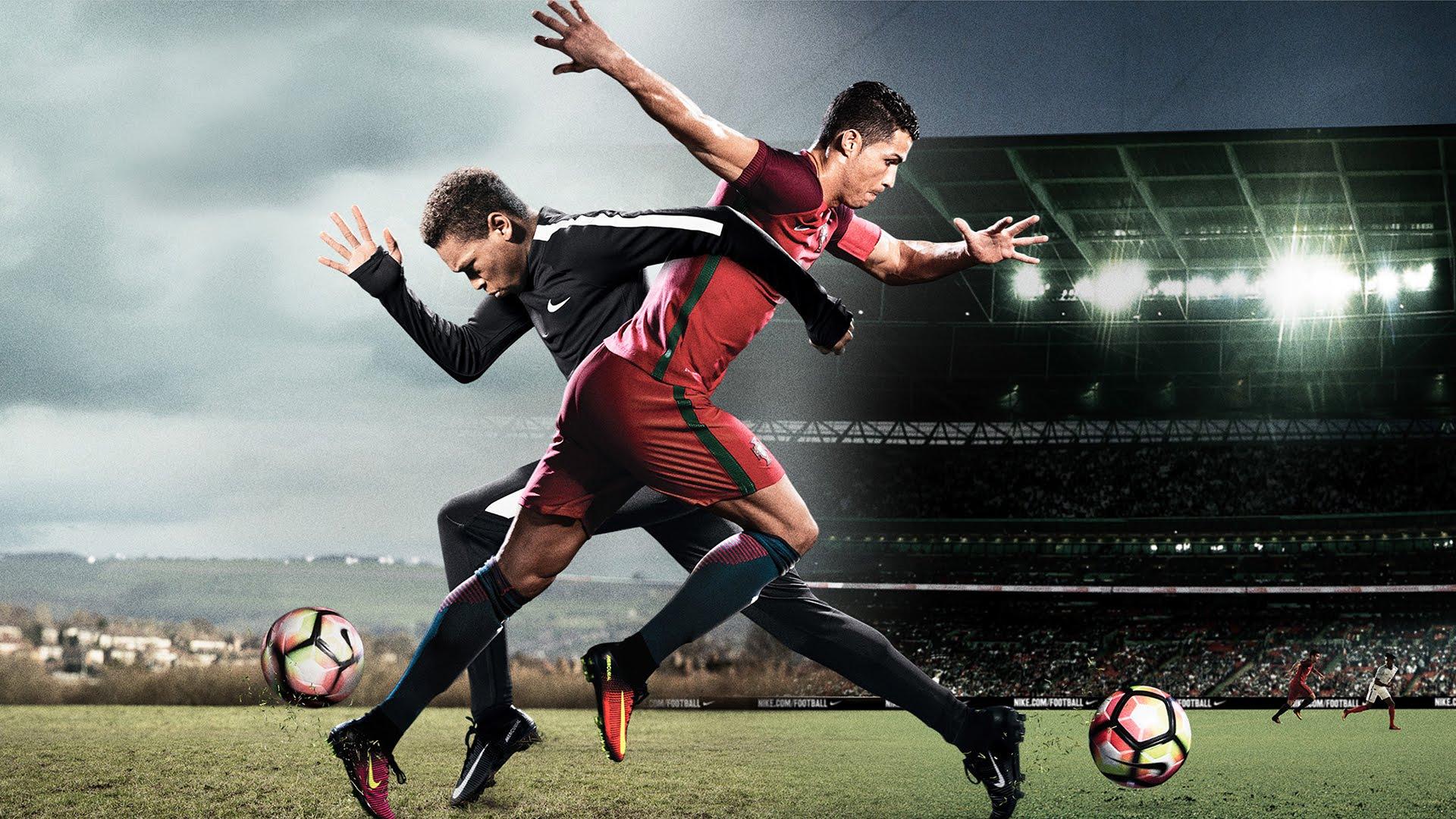 Ronaldo ve Quaresma aynı reklam filminde