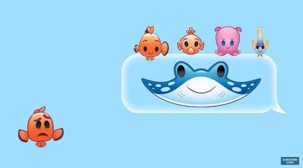 Nemo ve arkadaşları emojilerle konuşursa