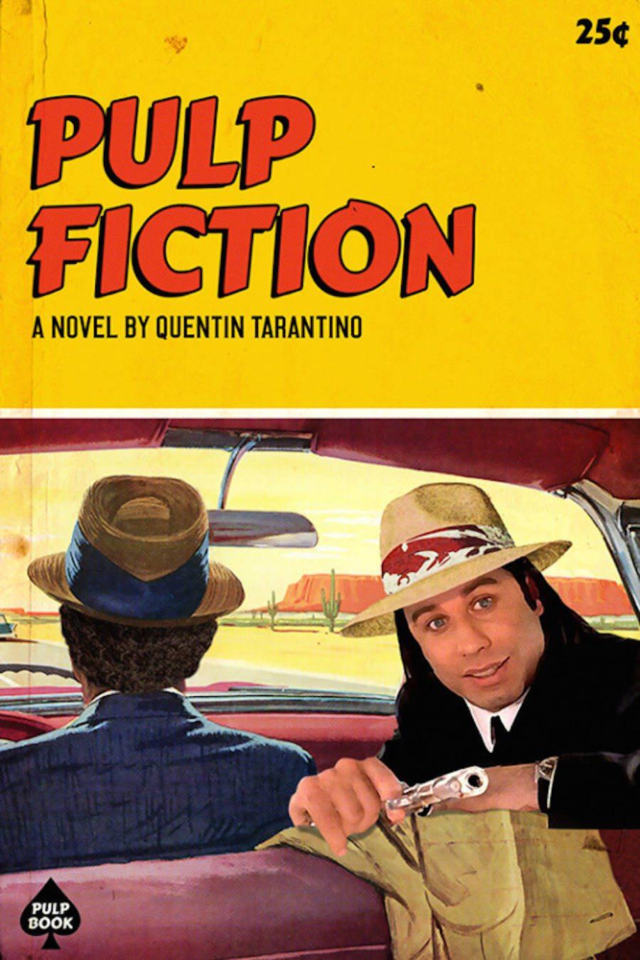 Tarantino filmleri Pulp Books'la buluştu
