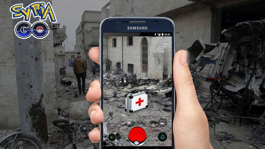 Pokemon Go'ya alternatif: SyriaGo