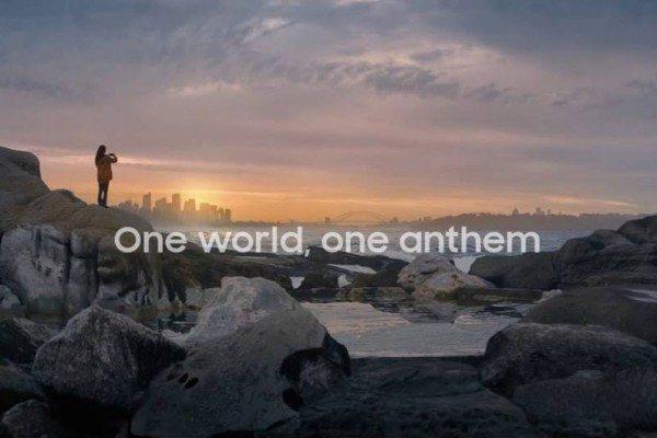 14 ülkenin marşı Samsung'un Olimpiyat reklamında