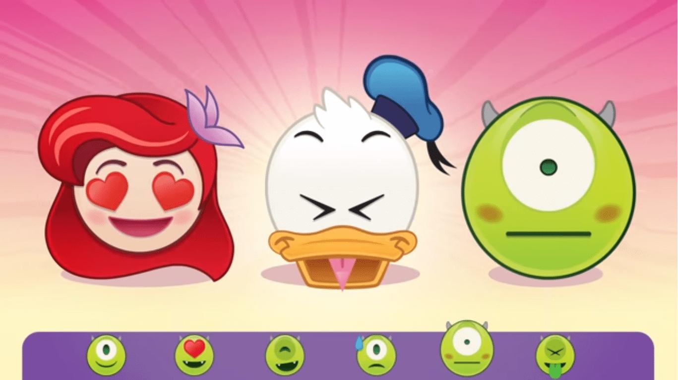 Animasyon karakterleri emojilere dönüştü