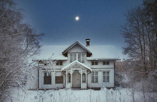 Doğanın sahip çıktığı terk edilmiş evler