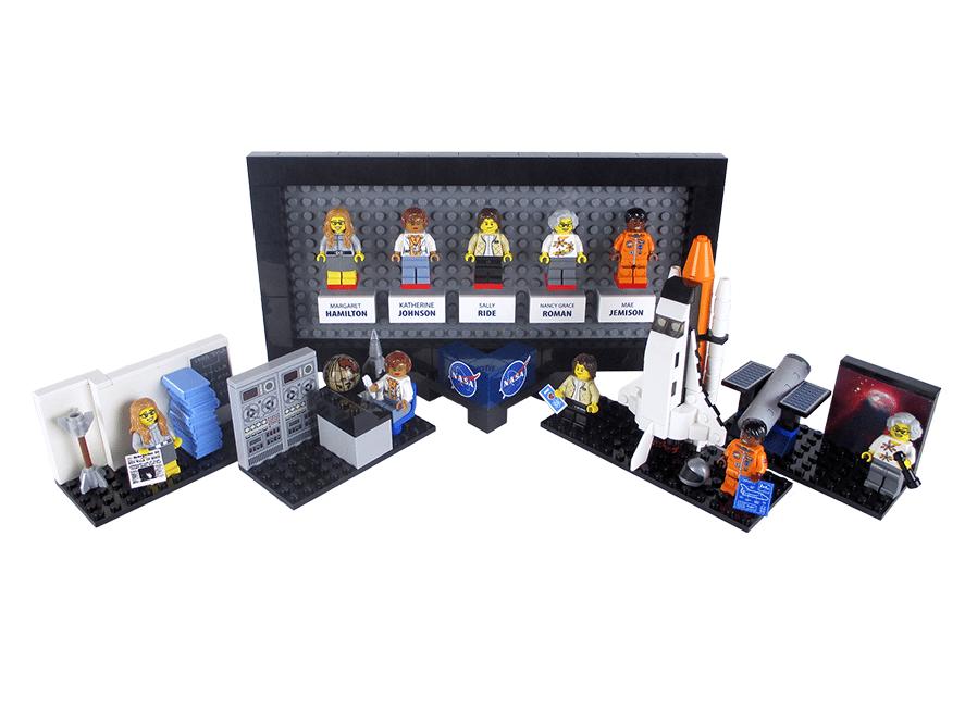 NASA'nın ünsüz kadın kahramanları LEGO'da