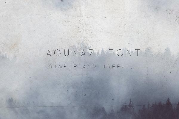 Laguna7-Font