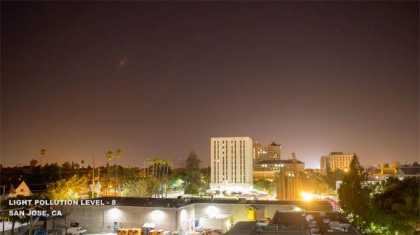 Gökyüzünü görmemizi engelleyen ışık kirliliği