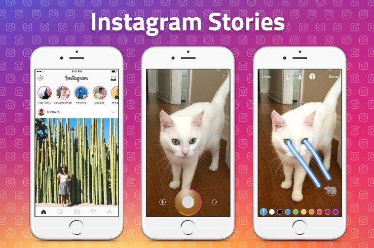Hikaye özelliği şimdi de Instagram'da