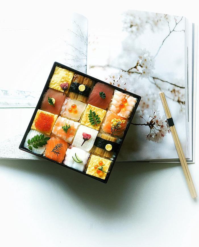 Japonların yeni gözdesi: Mozaik suşi