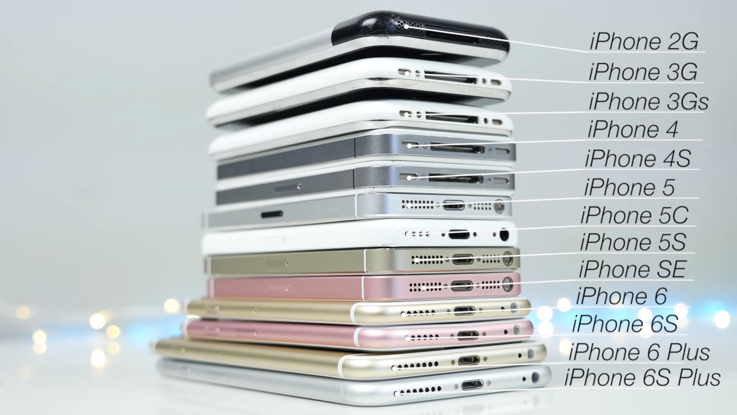 iPhone modelleri birbirleriyle kıyaslandı