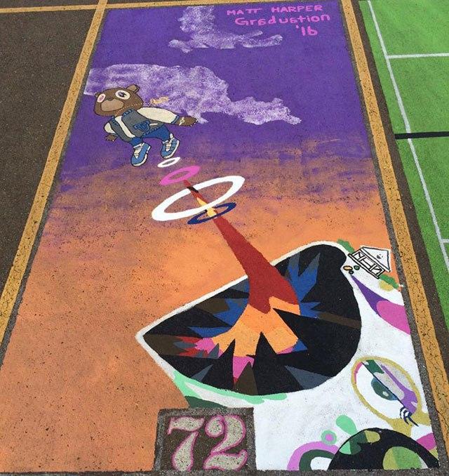 Okul parkı yaratıcılık alanına dönüştü