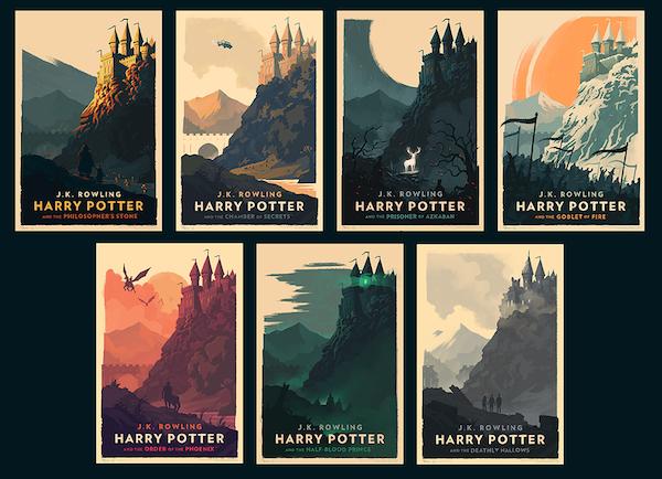 Harry Potter kapaklarında yeni tasarımlar