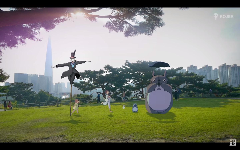 Studio Ghibli karakterlerine saygı duruşu
