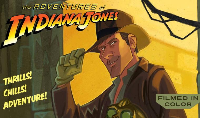 Indiana Jones animasyon karakterine dönüşürse