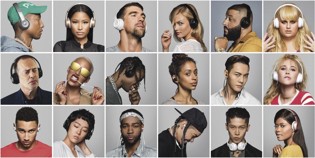 Beats'den yıldızlarla dolu reklam filmi