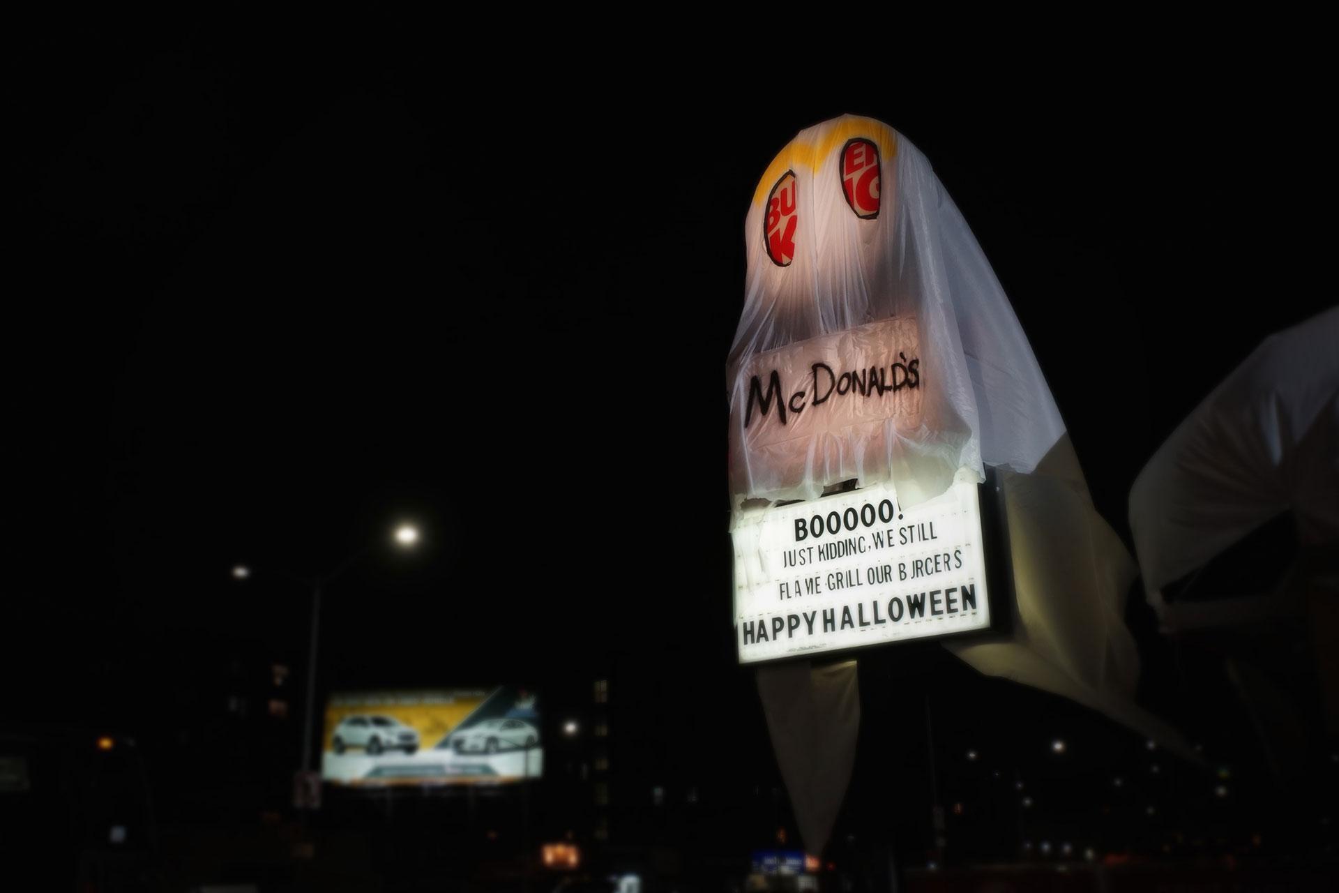 Burger King'den orijinal Cadılar Bayramı kampanyası
