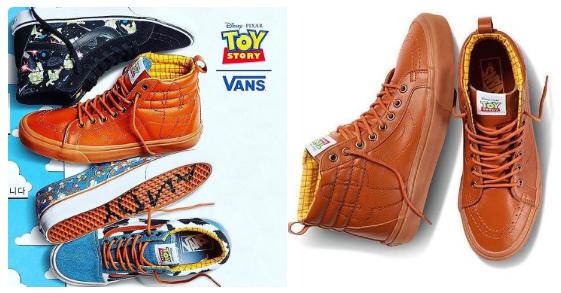 Vans ve Disney'den spor ayakkabı iş birliği