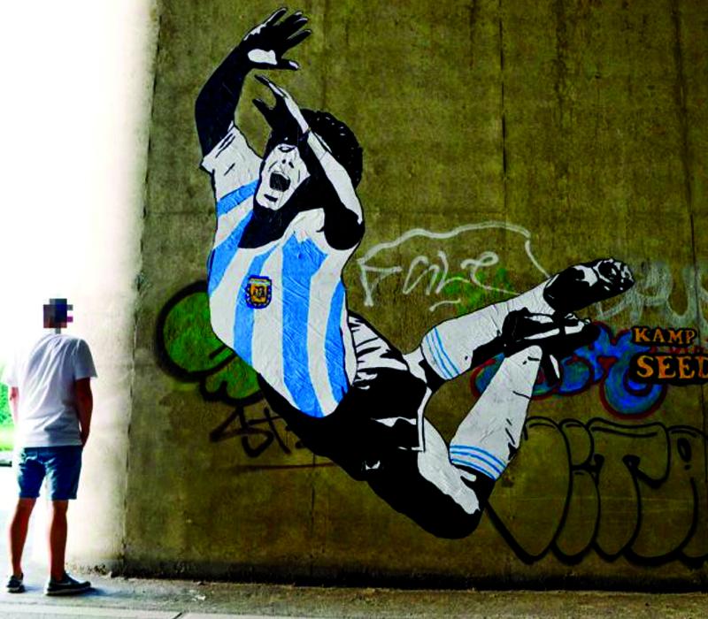Futbolun gerilla sanatçılarını tanımaya hazır mısınız?