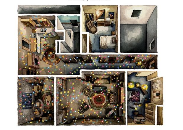 Dizi ve filmlerdeki evlerin yerleşim planı