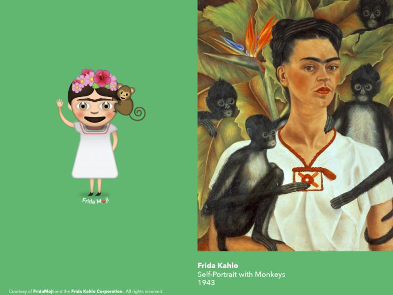 Şimdi de Frida Kahlo emojilere dönüştü