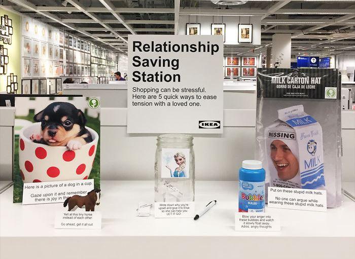 İlişkinizi kurtarmanın yollarını IKEA'da bulabilirsiniz