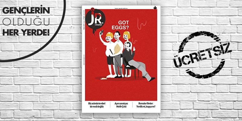 JR. Nisan 2017 sayısı çıktı