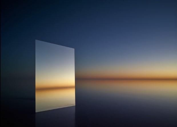 Aynalarla doğanın eşsiz birleşimi