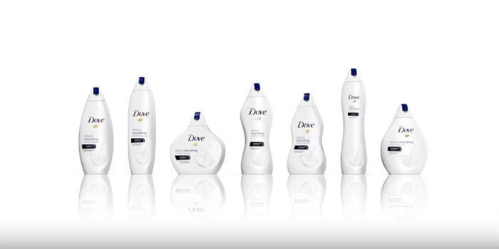 Dove'dan her 'bedende' şişe tasarımı
