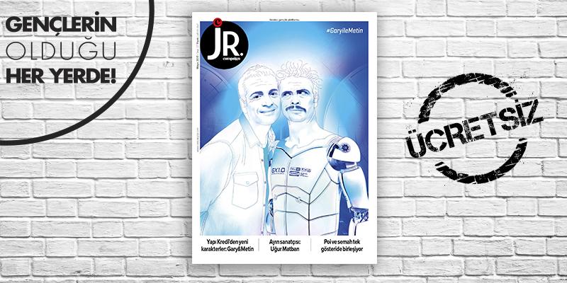 JR. Mayıs 2017 sayısı çıktı