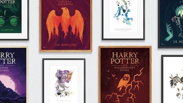 Harry Potter hayranlarına sanat koleksiyonu