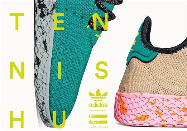 Pharrell Williams ile adidas Originals iş birliği