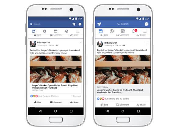 Facebook, tasarımını yeniliyor